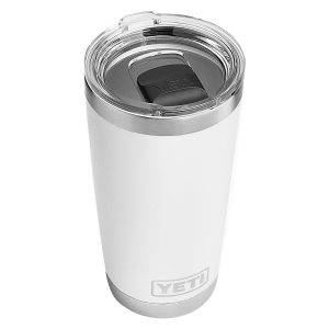 YETI rambler 20 oz review -White 4evafit.com