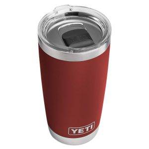 YETI rambler 20 oz review -Brick Red 4evafit.com