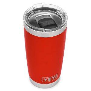 YETI rambler 20 oz review - Canyon Red 4evafit.com