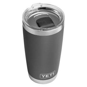 YETI rambler 20 oz review - Charcoal - 4evafit.com