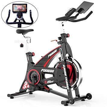 Pooboo Indoor Cycling Bike - 4evafit.com