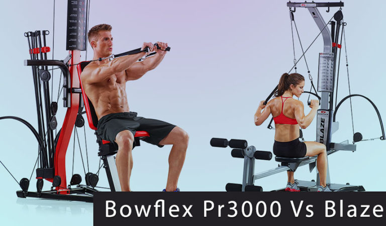 Bowflex Blaze vs Pr3000 Comparison & Important Differences