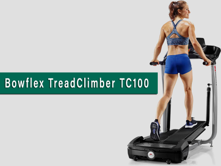 Bowflex TreadClimber TC100: Best Indoor Walking Machine [2020]