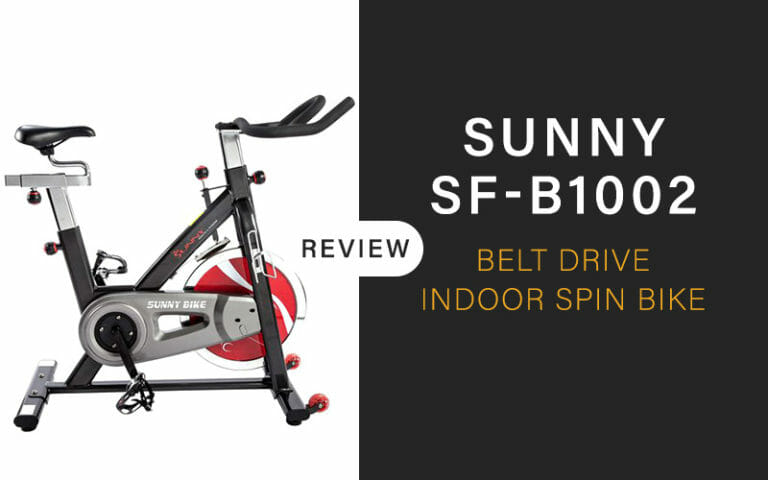 Sunny SF-B1002 Belt Drive Indoor Spin Bike  Review [2020]