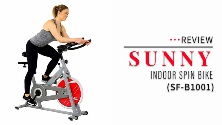 Sunny Health & Fitness SF-B1001 Indoor Bike Review