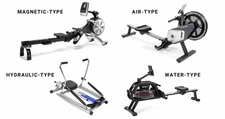 Different Types of Rowing Machines And Accessories You Need For Rowing