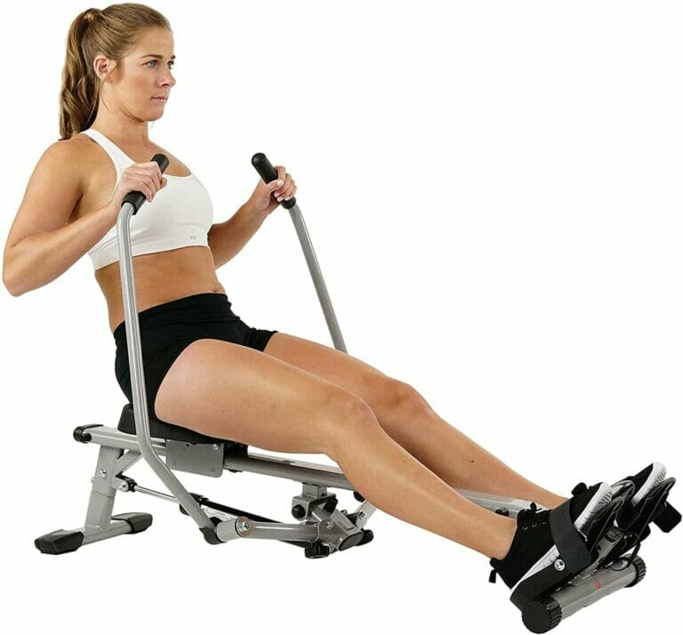 Sunny Health Fitness SF RW5639 Full Motion Rowing Machine