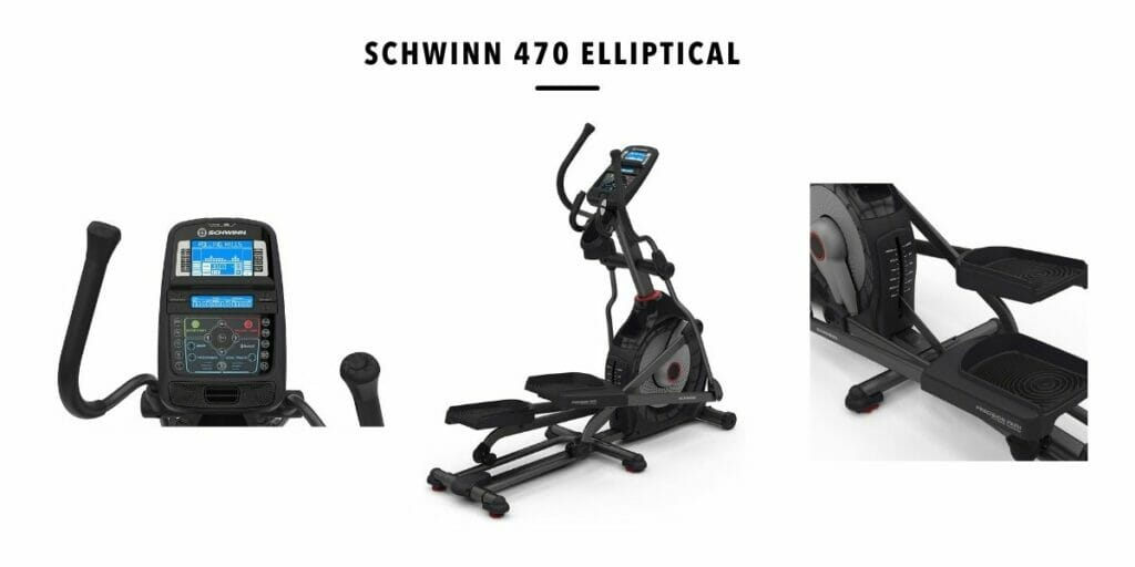 best features of Schwinn 470 Elliptical