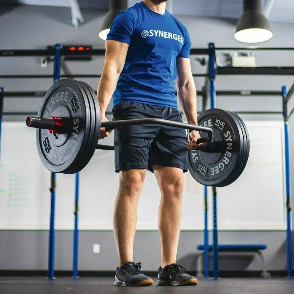 Synergee 25kg Olympic Squat Bar